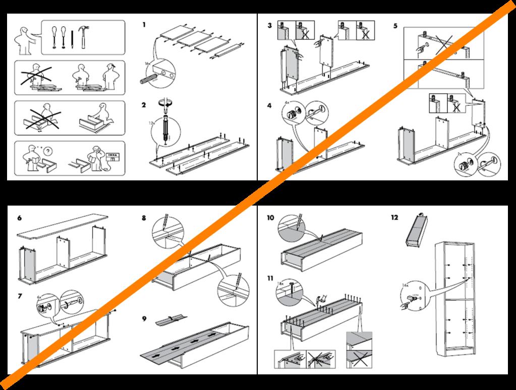 ikea assembly instructions