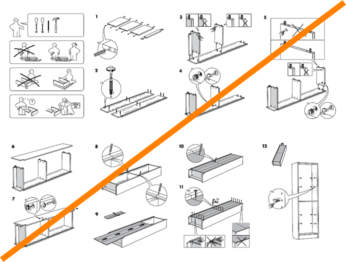 ikea assembly instructions